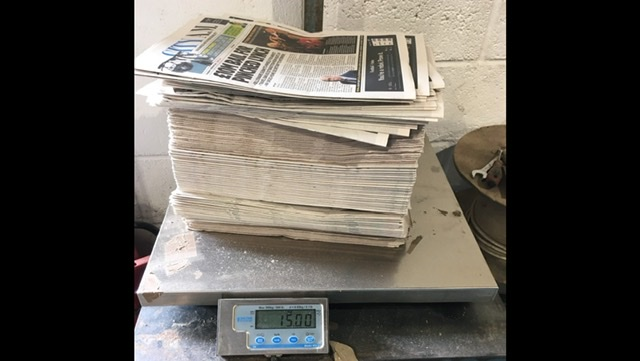 15kg Unread Newspapers